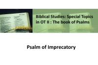 Psalm of Imprecatory